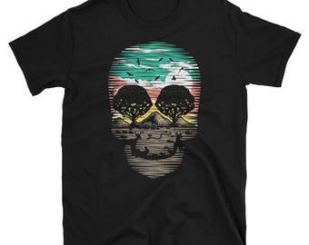 Funny Skull t-shirt Halloween