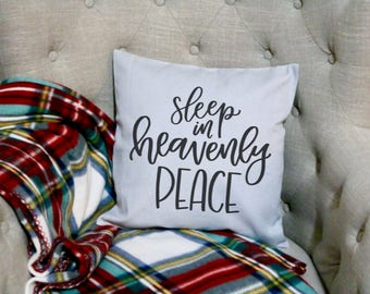 Sleep in Heavenly Peace - Pillow Cover