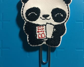 Bill Paying Panda Planner Clip