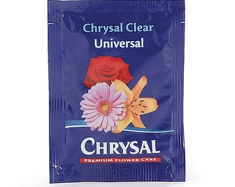 Floral CHRYSAL Premium FLOWER FOOD Bouquet Florist Supplies (Extends Vase Life) Free Shipping!