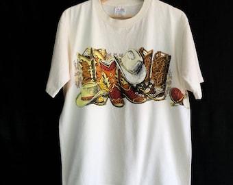 1990s Cowboy vintage t-shirt