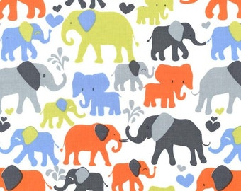 SALE 30% OFF Elephant Walk Premium Cotton Fabric by Michael Miller