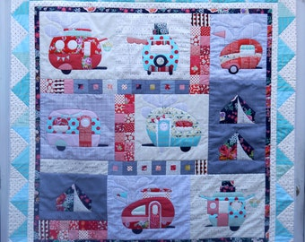 Vantastic Applique quilt Pattern
