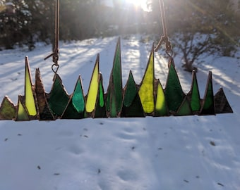 Forest (large) Stained Glass Suncatcher