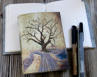 journey tree journal - travel life's journey, tree of life, inspire journal - tremundo