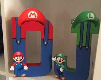 Mario and Luigi Letters