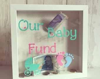 Baby Fund Money Box Frame