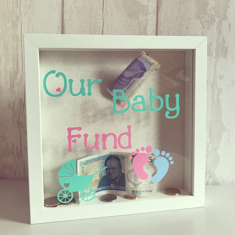 Baby-Fonds-Geld-Box-Rahmen