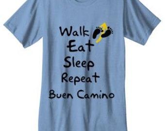 Camino de Santiago Pilgrim Tee Shirt