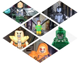 Custom Lego Sinister six team includes New Vulture  ready to take on Spiderman
