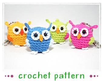 Modèle de crochet pour le perroquet - Amigurumi - OWL - remorque-
