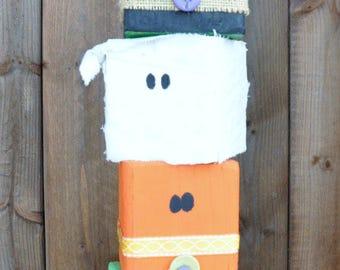 Halloween Character Block Set