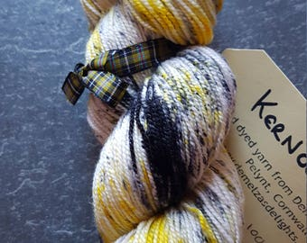 Hand dyed sock yarn 100g Kernow