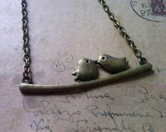 Sparrow necklace ~ bronze ~.