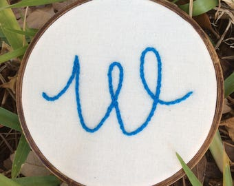 Personalized Initial 4-inch Embroidery