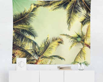Palm Tapestry | Palm Wall Tapestry | Palm Leaf Tapestry | Palm Leaf Wall  Tapestry |