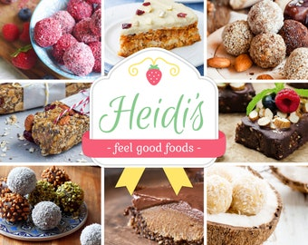 Sweet and Healthy Snacks and Desserts Sample Bag (Natural, Gluten-Free, Vegan, Raw, Organic)