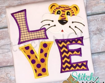 Tiger LOVE T-Shirt or Bodysuit