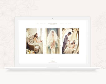 ProPhoto 6 Design Template for Wedding Photographers - Minimal ProPhoto 6 Theme - Photography ProPhoto 6 Website Design - INSTANT DOWNLOAD
