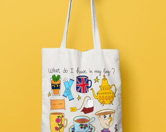 Tote bag Tea Time