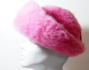 Vintage Pink HB Breton Hat, Accessories