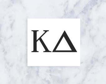 Greek Letter Sticker (Free Shipping!)
