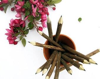 Handmade natural tree branch/twig pencil