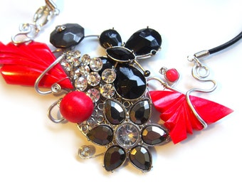"One of a Kind Necklace ""Marta"""