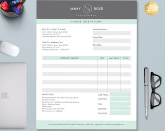 Invoice Template Etsy - Invoice format download online comic book store
