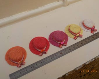 1/12 scale miniature hat - 5 colors to choose from