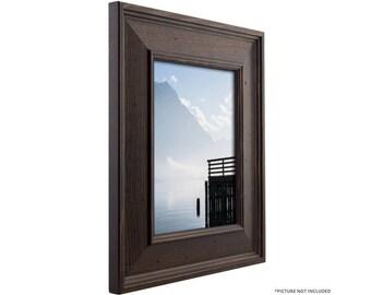"""Craig Frames, 24x36 Inch Dark Walnut Brown Picture Frame, Burbank 2.75"""" Wide  (571752042436)"""