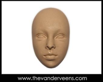 Mold No.11 (Face-Open eyes) by Veronica