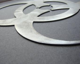 Signo de pared de Metal de símbolo Biohazard