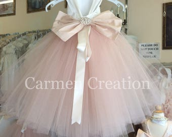 Mini Bride Flower Girl Dress 1001 NB
