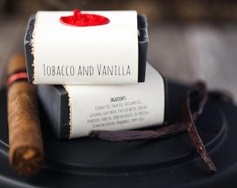 Tobacco and Vanilla Goats Milk Soap