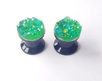 Emerald City Plugs Size 8mm