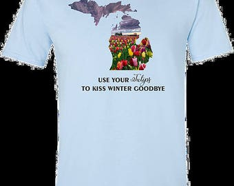 Tulips to kiss winter goodbye
