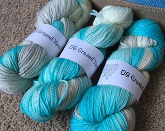 Frozen Worsted Superwash Merino Wool
