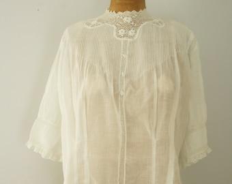 1910s blouse   vintage antique blouse