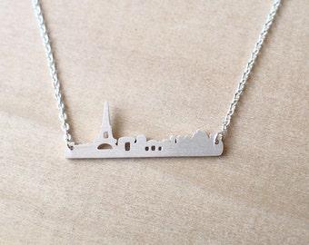 Paris Cityscape Necklace
