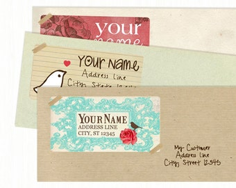 Address Labels  Custom Return Address Labels  Mailing Labels  Logo Stickers  Product Labels  Adhesive Labels  - YOUR LOGO or DESIGN