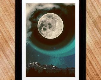 Moon Glow Print