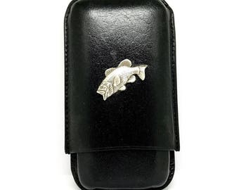 Bass Fishing Cigar Case