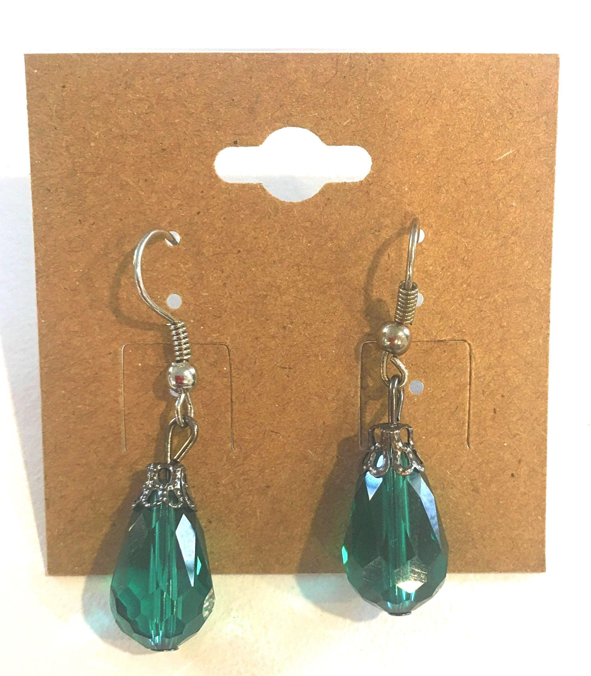 sterling jewelry cosanuova earrings jewellery silver drop emerald