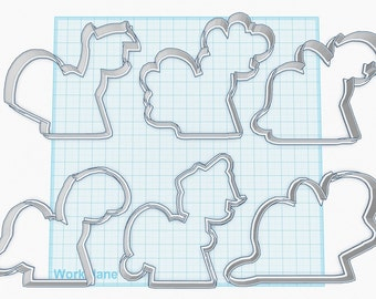 Magical Pony Cookie Cutters
