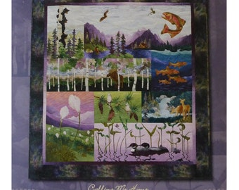Calling Me Home ~8 Pattern Set For Applique By Mckenna Ryan