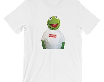 Supreme x Terry Richardson Kermit Photo Short-Sleeve Unisex T-Shirt