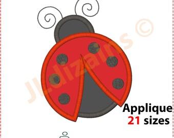 Ladybug Applique design. Ladybug embroidery design. Embroidery design ladybug. Ladybug applique Ladybird apploque. Machine embroidery design
