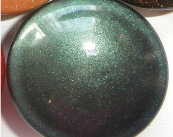 Custom made One of a Kind Furniture and Cabinet Knob-Teal Metallic Car paint coating