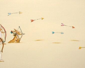 Custom listing for Lacy, The Archery Club- Print